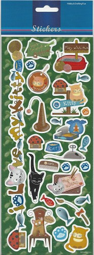 Stickervel Cats