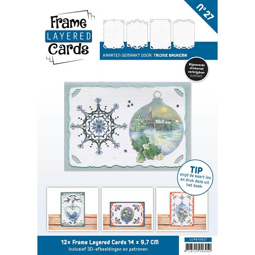 Boek Frame Layered Cards 27 - A6