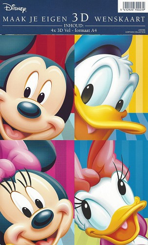 Disney Toppers pakket A4 Donald