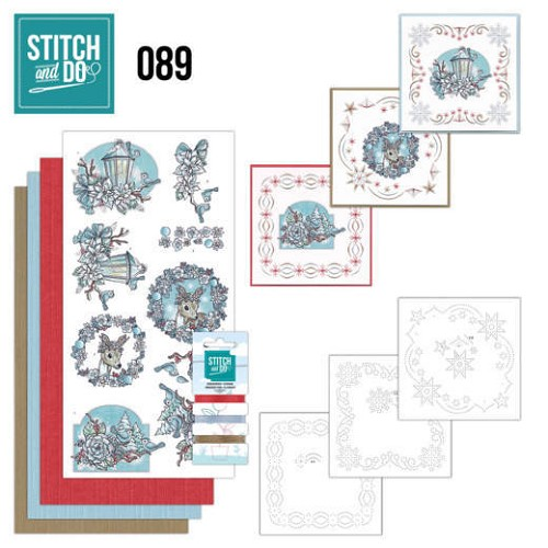 Borduurpakketje Stitch and Do 89 - Christmas Dreams
