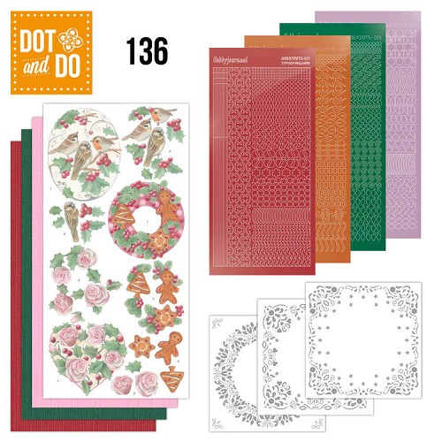 Dot and Do 136 - Christmas Florals