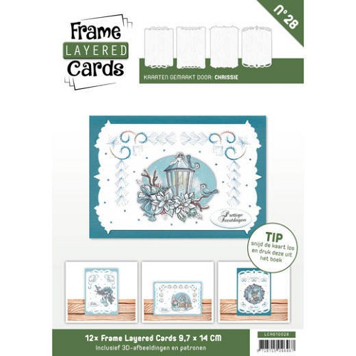 Boek Frame Layered Cards 28 - A6