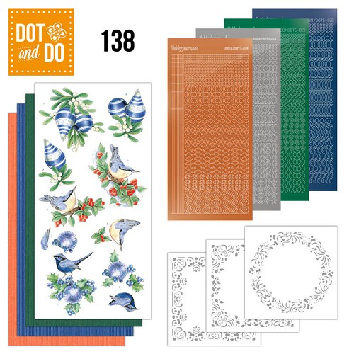 Dot and Do 138 - Blue Christmas