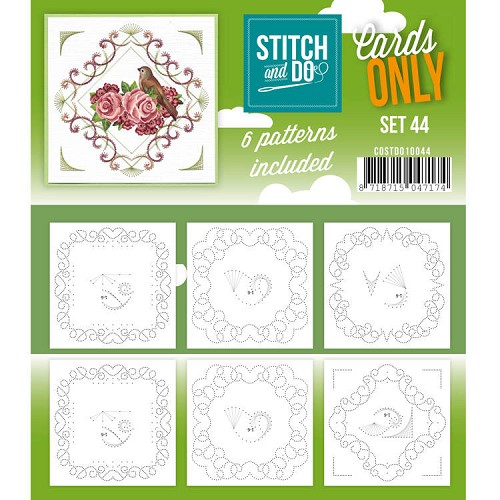 Stitch & Do - Cards only - set 44