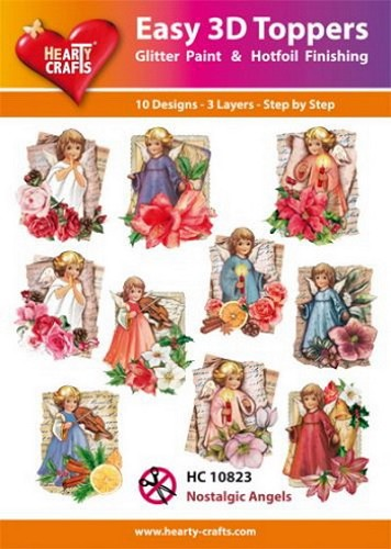 Easy 3D Toppers Nostalgic Angels