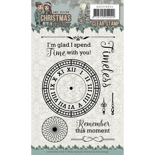 Clearstamp - Amy Design - Christmas Wishes