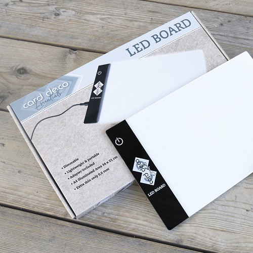 Card Deco Essentials Led Board Lichtbak