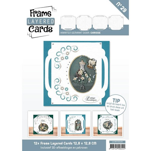 Boek Frame Layered Cards 29 - 4K