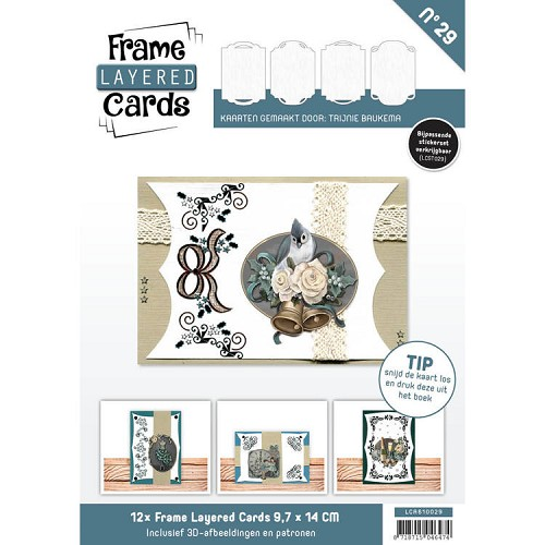 Boek Frame Layered Cards 29 - A6