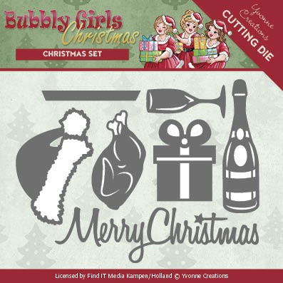 Dies - Yvonne Creations - Bubbly Girls Christmas - Christmas