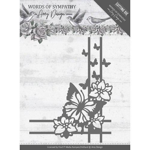 Amy Design die - Words of Sympathy - Sympathy Corner