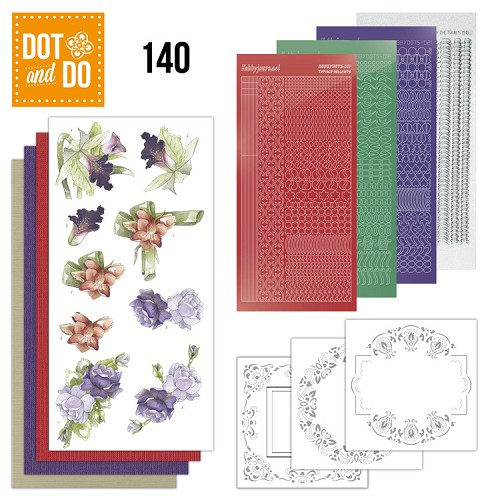 Dot and Do 140 - Winter Flowers