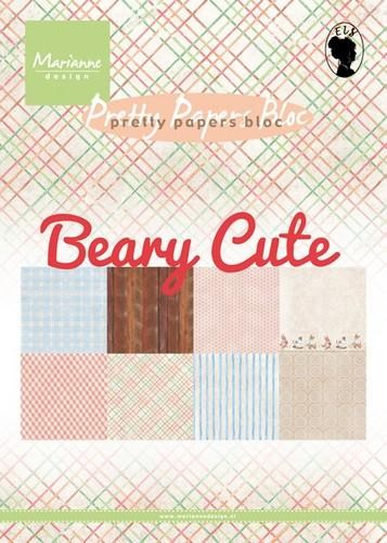 Marianne Design A5 Paperpack Beary Cute