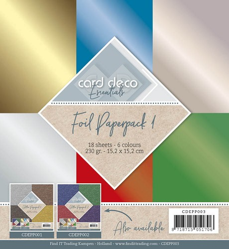 Carddeco Foil Paperpack