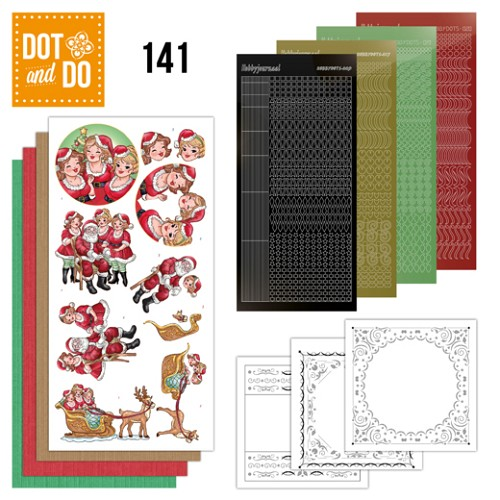 Dot and Do 141 - Bubbly Girls Xmas