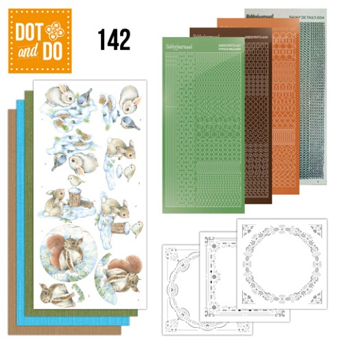 Dot and Do 142 - Winter Woodland