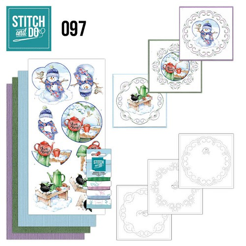 Borduurpakketje Stitch and Do 97 - Warm Winter