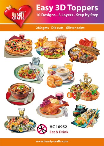 Easy 3D Toppers Eat & Drink
