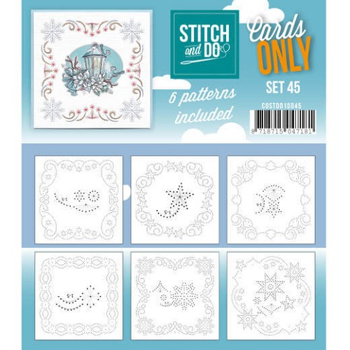 Stitch & Do - Cards only - set 45