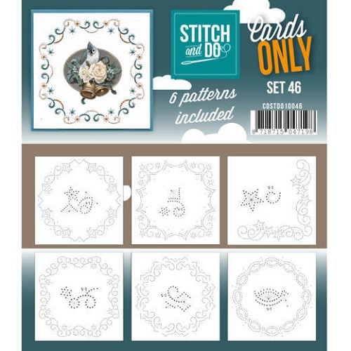 Stitch & Do - Cards only - set 46