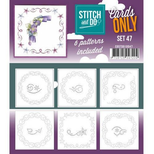 Stitch & Do - Cards only - set 47