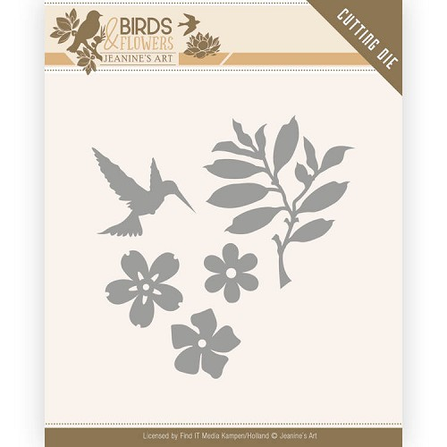 Dies - Jeanine`s Art - Birds and Flowers - Birds Foliage
