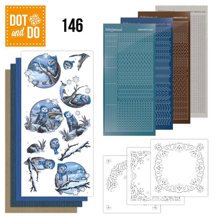 Dot and Do 146 - Winter Owls