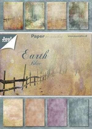 Joy! Paper Bloc A5 Earth