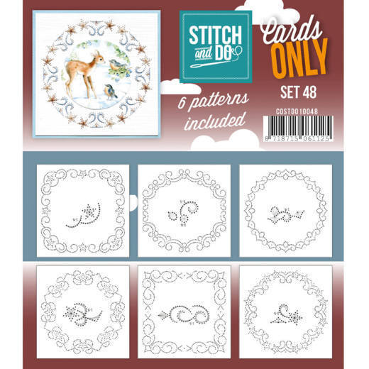 Stitch & Do - Cards only - set 48