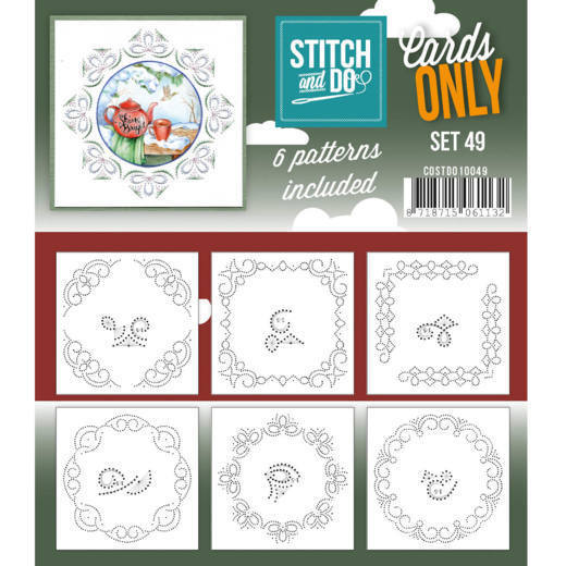 Stitch & Do - Cards only - set 49