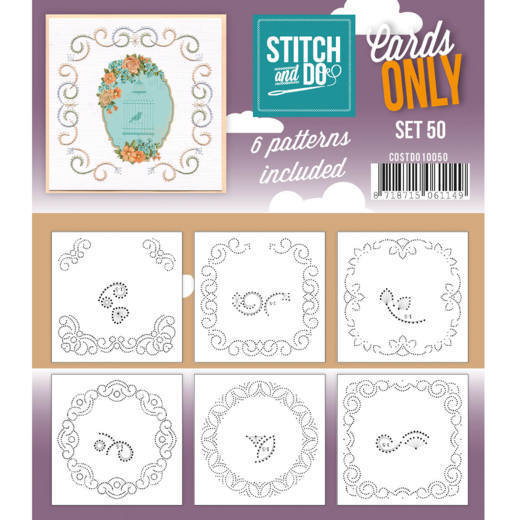 Stitch & Do - Cards only - set 50
