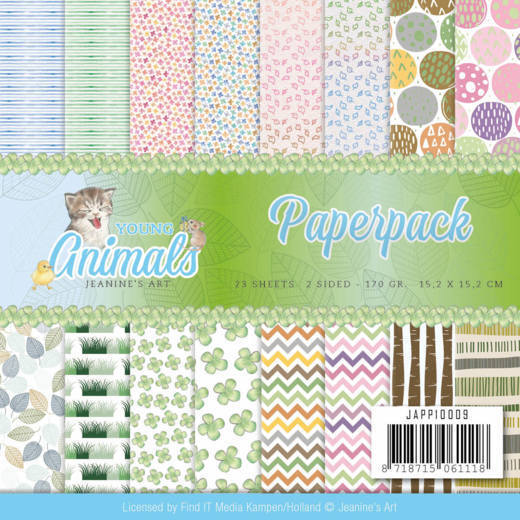 Paperpack - Jeanine's Art - Young Animals