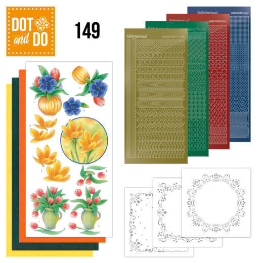 Dot and Do 149 - Bouquet of Flowers