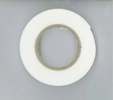 Foam tape 1 mm dik - 12 mm x 2 mtr