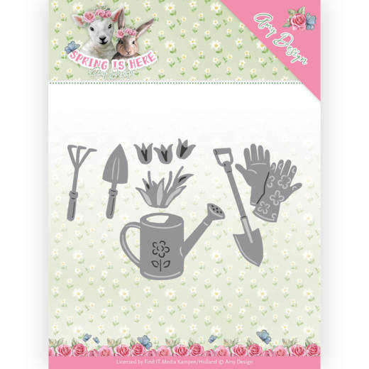 Amy Design die Spring is Here - Garden Tools
