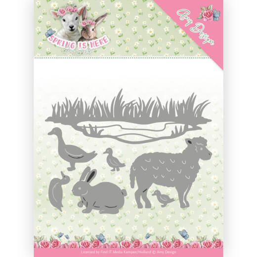 Amy Design die Spring is Here - Spring Animals