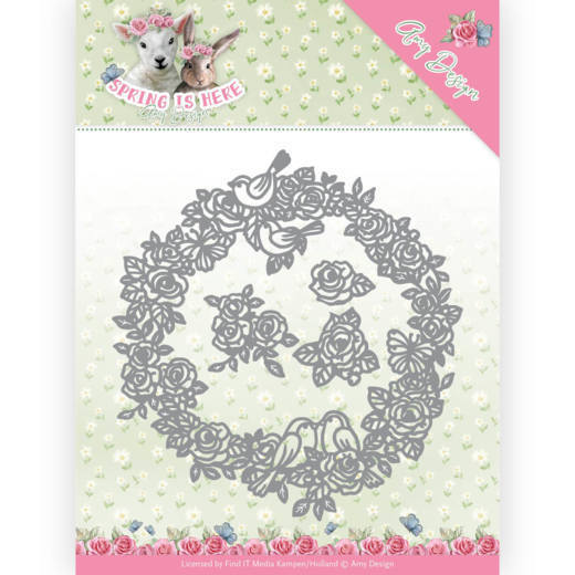 Amy Design die Spring is Here - Circle of Roses