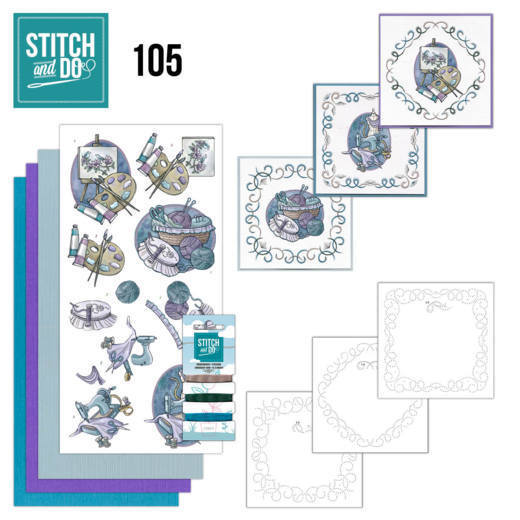 Borduurpakketje Stitch and Do 105 - Crafting