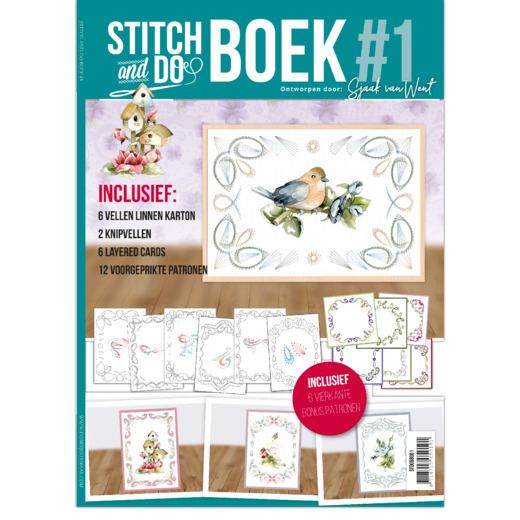 Stitch and Do A6 Boek 1 Sjaak van Went