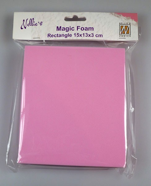 Magic Foam Block Rectangle 15 x 13 x 3 cm