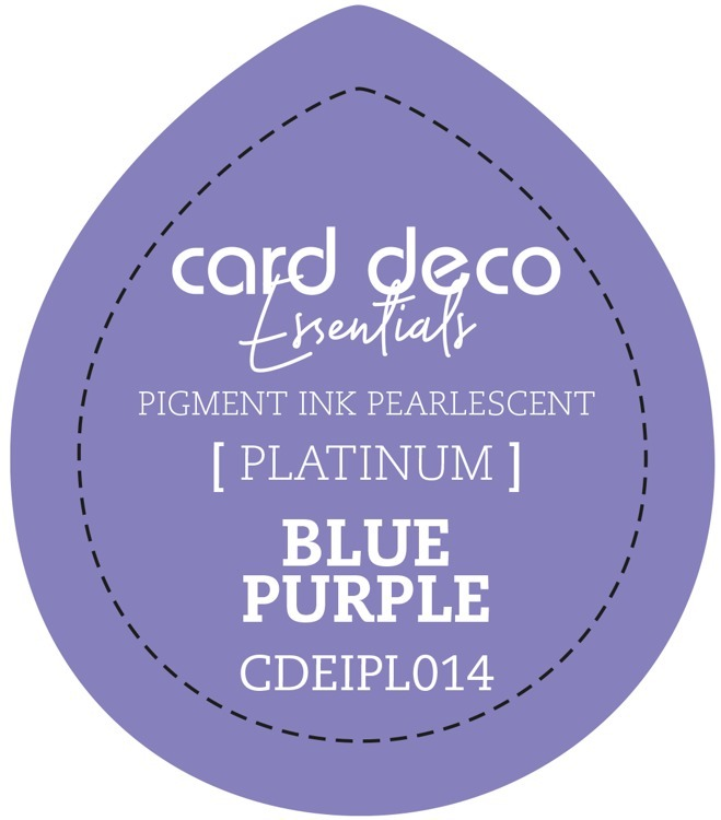 Card Deco Essentials Fast-Drying Pigment Ink Pearlescent Blue Purple