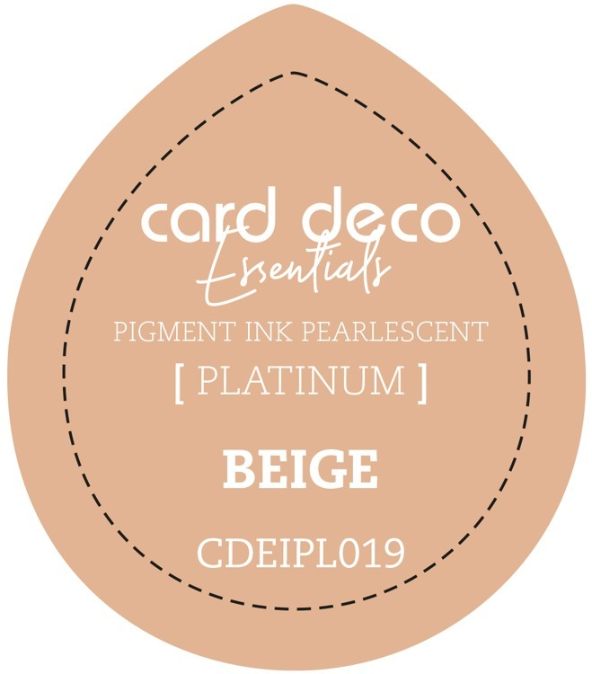 Card Deco Essentials Fast-Drying Pigment Ink Pearlescent Beige
