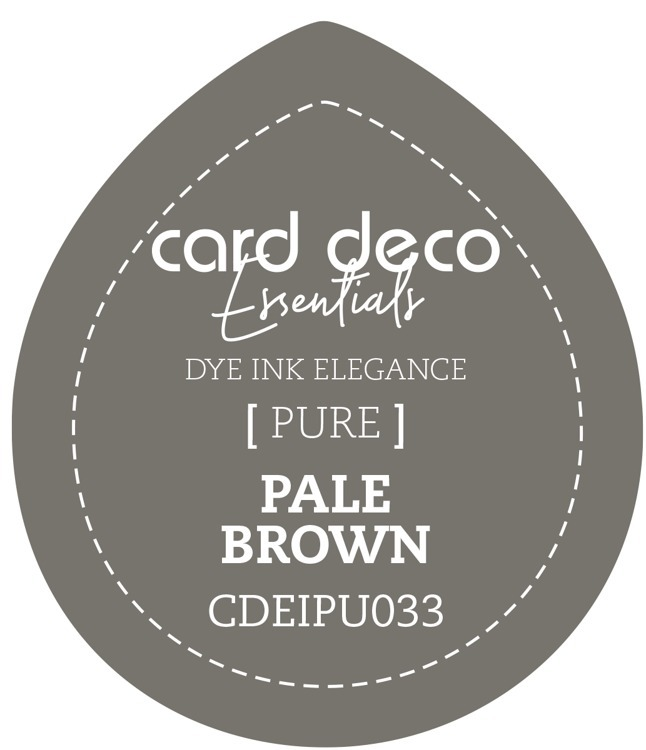 Card Deco Essentials Fade-Resistant Dye Ink Pale Brown