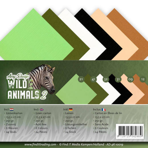 Linnenpakket - 4K- Amy Design - Wild Animals 2