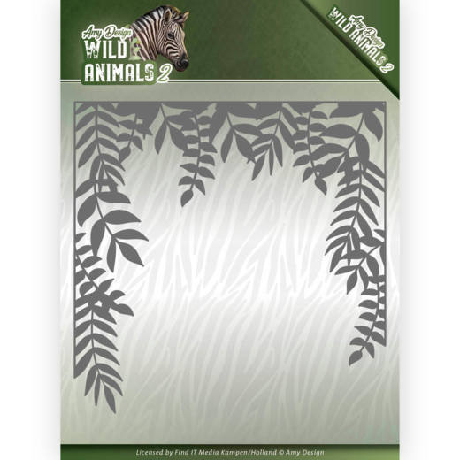 Dies - Amy Design - Wild Animals 2 - Jungle Frame