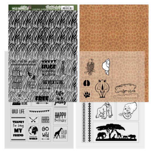 Printed Sheets - Amy Design - Wild Animals 2