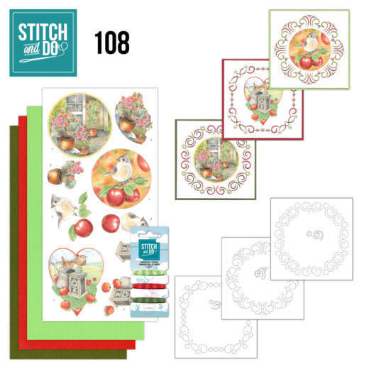 Borduurpakketje Stitch and Do 108 - Outdoor Beauty