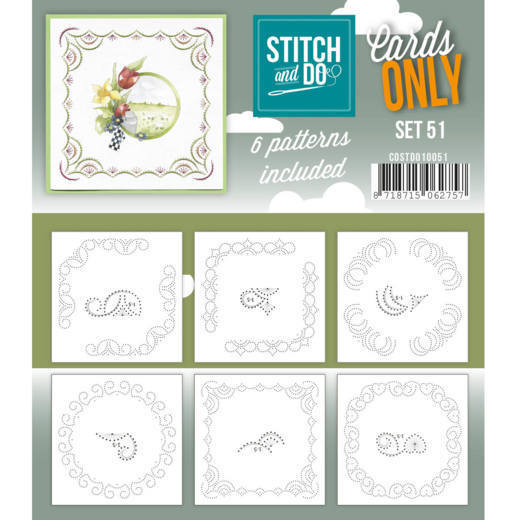 Stitch & Do - Cards only - set 51