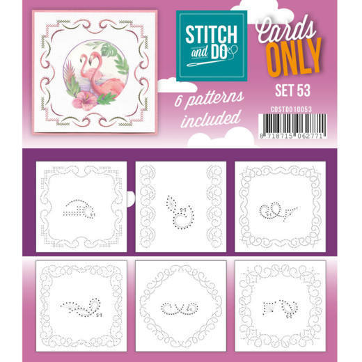 Stitch & Do - Cards only - set 53