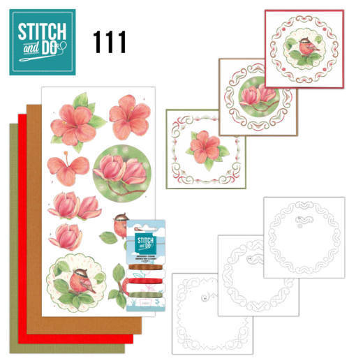 Borduurpakketje Stitch and Do 111 - Natures Beauty